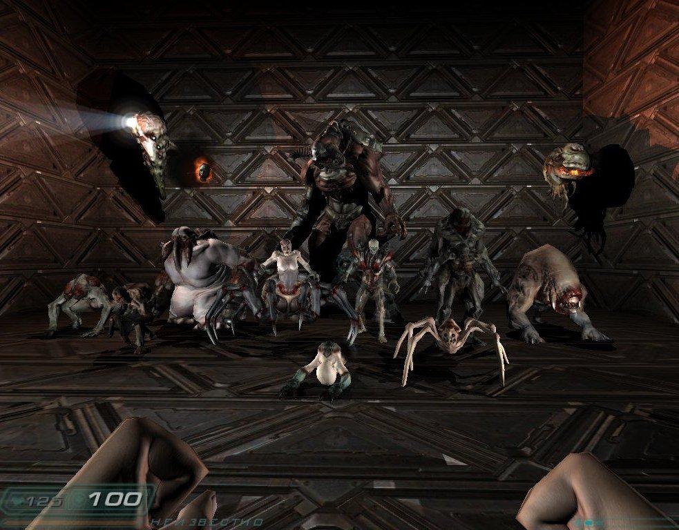 Видео из игры Doom 3 - 24 видеоролика на AG ru